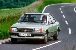 1981 Opel Ascona C Gewinner Goldenes Lenkrad Auto Bild