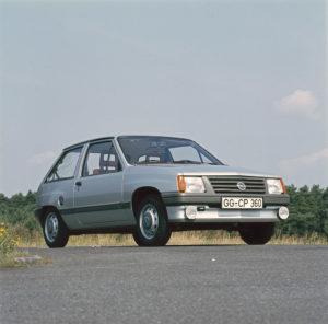 1982 Opel Corsa A Gewinner Goldenes Lenkrad Auto Bild