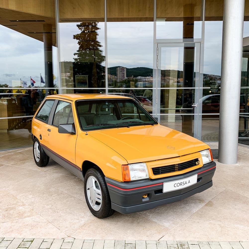 Foto Opel Corsa A GT restauririert von Opel Classic Rüsselsheim