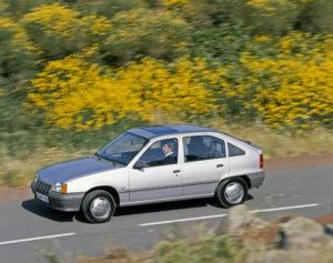 1984 Opel Kadett E Gewinner Goldenes Lenkrad Auto Bild