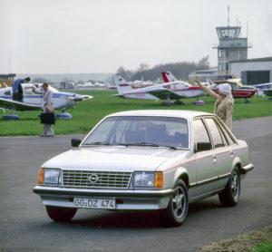 1978 Opel Senator Gewinner Goldenes Lenkrad Auto Bild