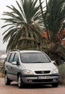 1999 Opel Zafira Gewinner Goldenes Lenkrad Auto Bild
