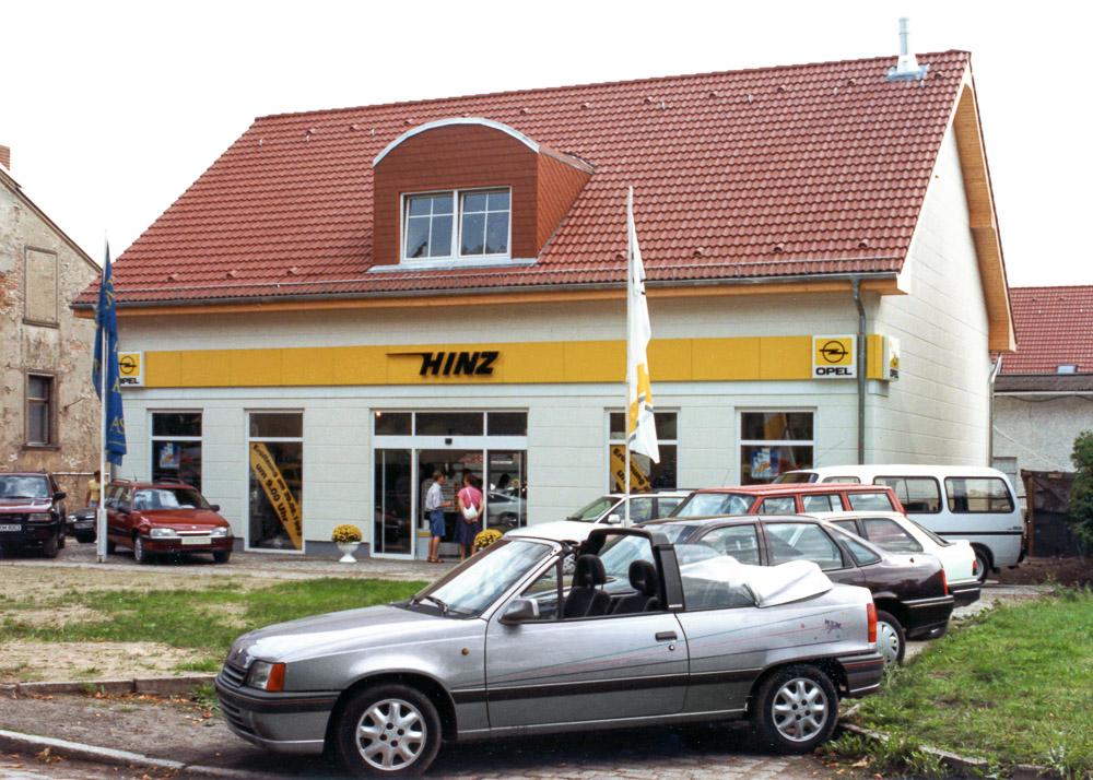 foto opel händler 80er Jahre autohaus