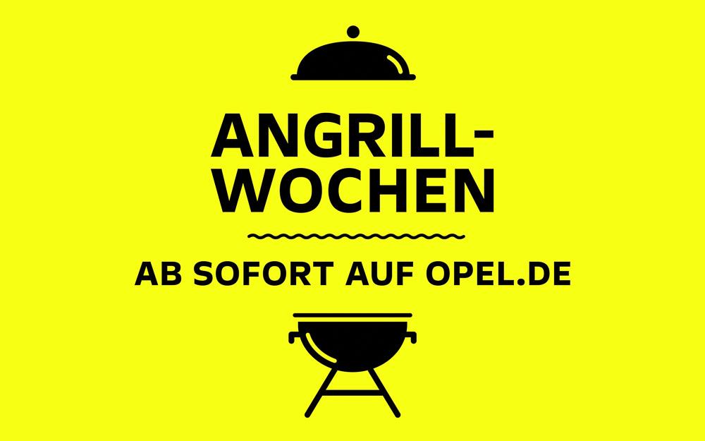foto logo plakat opel angrillwochen 2021
