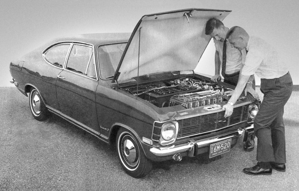 foto 50 jahre opel elektromobilität 1968 Der Kadett B Stir-Lec I