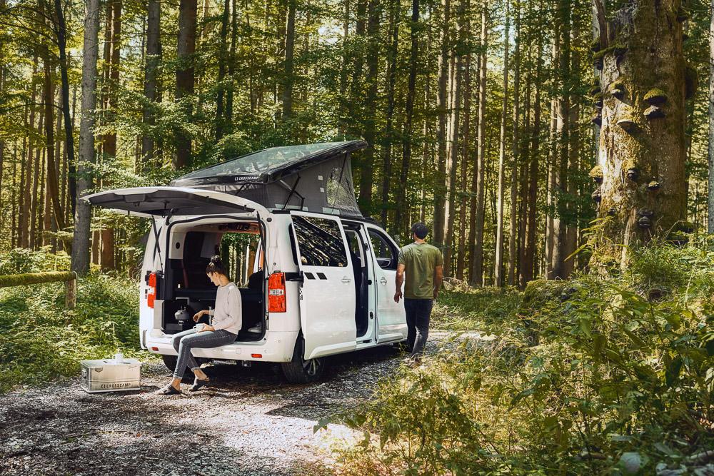 foto camping opel zafira life crosscamp