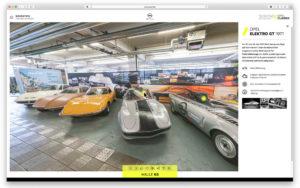 foto opel 360 grad virtuelle rundgänge abteilung opel gt sammlung