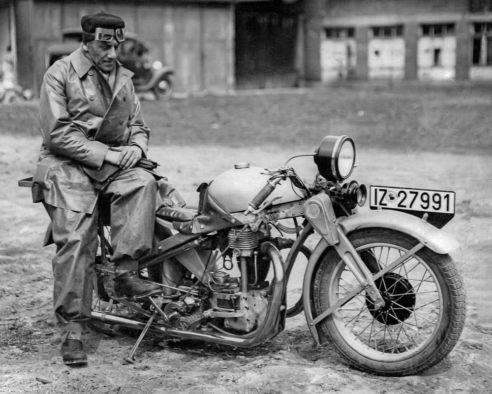 Foto opel motoclub 500 mit neander hausmann