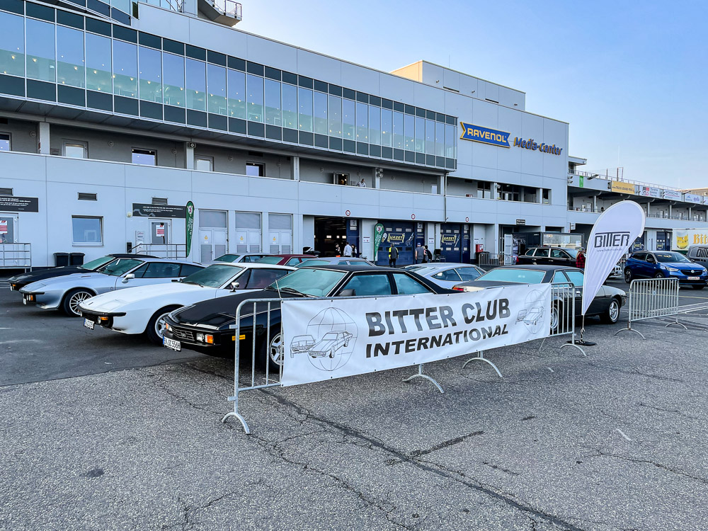 foto treffen bitter club international nürburgring 2021 1000km rennen
